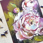 Картины и панно handmade. Livemaster - original item Diptych Delicate contrasts - painting with pastels. Handmade.