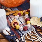 Одежда handmade. Livemaster - original item Slingobusy with rings Autumn. Handmade.