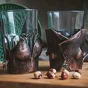 Utensils handmade. Livemaster - original item Forged Cup holders