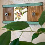 Для дома и интерьера handmade. Livemaster - original item Decorative hanger-panel