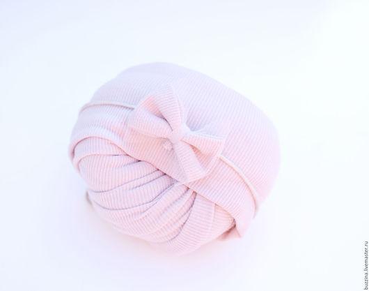 Для новорожденных, ручной работы. Ярмарка Мастеров - ручная работа. Купить Обмотка + повязочка на голову для фотосессии новорожденной. Handmade.