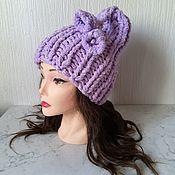 handmade. Livemaster - original item Hats: purple bell. Handmade.