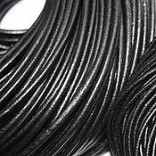Материалы для творчества ручной работы. Ярмарка Мастеров - ручная работа Шнур натуральная кожа  3,5 мм. Handmade.