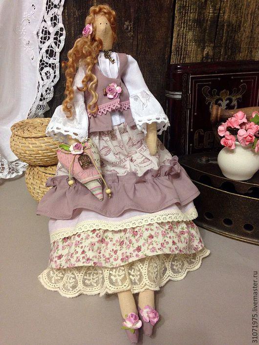 Куклы Тильды ручной работы. Ярмарка Мастеров - ручная работа. Купить Кукла Розалия. Handmade. Тильда, кукла Тильда