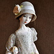Куклы и игрушки ручной работы. Ярмарка Мастеров - ручная работа авторская кукла Маргарита. Handmade.