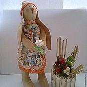 Куклы и игрушки ручной работы. Ярмарка Мастеров - ручная работа интерьерная игрушка  Зайчиха. Handmade.