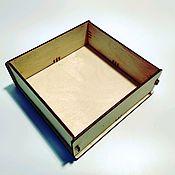 Коробки ручной работы. Ярмарка Мастеров - ручная работа Коробка из фанеры BOX-150-50-1x1. Handmade.