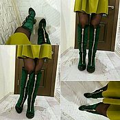 Обувь ручной работы. Ярмарка Мастеров - ручная работа женские сапоги. Handmade.