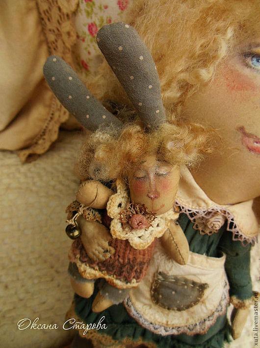 Ароматизированные куклы ручной работы. Ярмарка Мастеров - ручная работа. Купить Заблудившееся небо.... Handmade. Тёмно-зелёный, интерьерная кукла