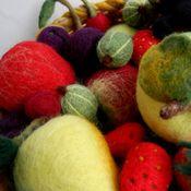 Для дома и интерьера ручной работы. Ярмарка Мастеров - ручная работа Корзина с фруктами и ягодами. Handmade.
