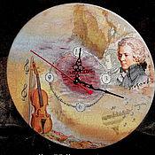 """Для дома и интерьера ручной работы. Ярмарка Мастеров - ручная работа Часы """"Мелодия"""". Handmade."""