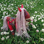 Куклы и игрушки ручной работы. Ярмарка Мастеров - ручная работа Рождественская лошадка. Handmade.
