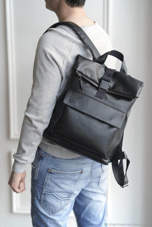 03a56fcd0509 Мужские сумки ручной работы. Ярмарка Мастеров - ручная работа. Купить  Мужской рюкзак 'Franco ...