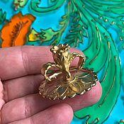Сувениры и подарки handmade. Livemaster - original item @ Russian-made brass flower lights.. Handmade.