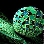 Картины и панно handmade. Livemaster - original item Diptych-Sphere. Handmade.