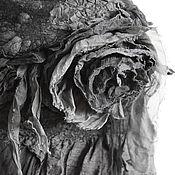 """Аксессуары ручной работы. Ярмарка Мастеров - ручная работа палантин """"Soul Of Anubis"""". Handmade."""