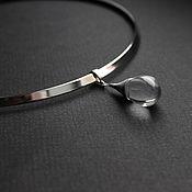 Украшения handmade. Livemaster - original item Necklace choker Drop Czech glass. Handmade.
