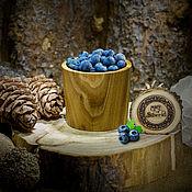 Посуда handmade. Livemaster - original item Glass of natural wood Siberian Elm #C11. Handmade.