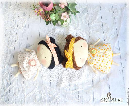 Куклы Тильды ручной работы. Ярмарка Мастеров - ручная работа. Купить Малышки Тильда. Handmade. Комбинированный, кукла текстильная
