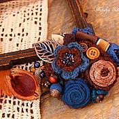 Украшения handmade. Livemaster - original item Brooch textile Tallinn. Handmade.