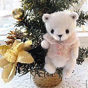 Куклы и игрушки ручной работы. Ярмарка Мастеров - ручная работа Белый мишка.. Handmade.