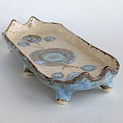 Посуда ручной работы. Ярмарка Мастеров - ручная работа Тарелка «Инопланетный гость». Handmade.