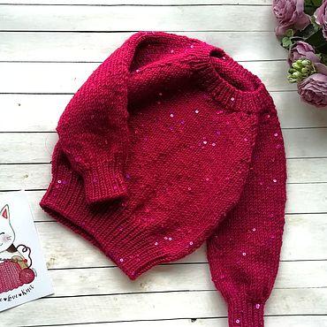 Clothing handmade. Livemaster - original item Sweater for girls. Handmade.