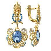 Украшения handmade. Livemaster - original item The Golden earrings