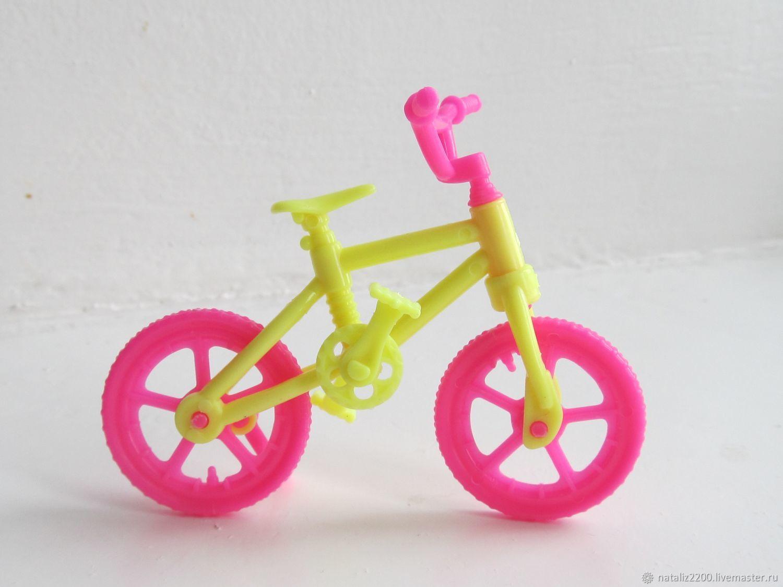 Кукольный дом ручной работы. Ярмарка Мастеров - ручная работа. Купить Велосипед для куклы. Handmade. Игрушка, аксессуары для кукол
