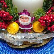 Сувениры и подарки handmade. Livemaster - original item An original Christmas composition. Handmade.