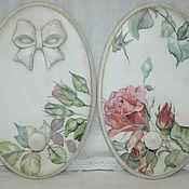 """Для дома и интерьера ручной работы. Ярмарка Мастеров - ручная работа Вешалка """"Цвет розы"""". Handmade."""
