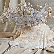 Свадебный салон ручной работы. Ярмарка Мастеров - ручная работа Свадебная корона. Handmade.