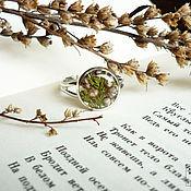 """Украшения ручной работы. Ярмарка Мастеров - ручная работа Кольцо """"Вереск поет"""". Кольцо с цветком  вереск два вида. Handmade."""