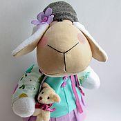 Куклы и игрушки ручной работы. Ярмарка Мастеров - ручная работа Овечка - красотуля. Handmade.