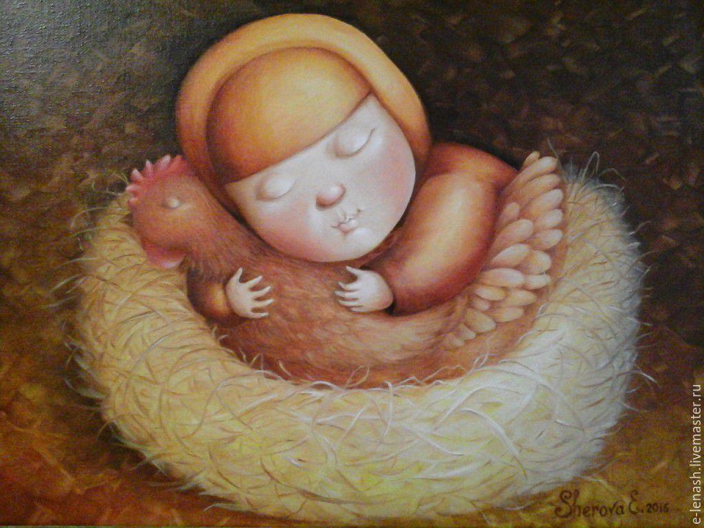 Моя милая Пеструшка, Картины, Евпатория,  Фото №1