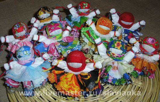 Народные куклы ручной работы. Ярмарка Мастеров - ручная работа. Купить Колокольчик. Handmade. Народная кукла, ситец