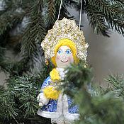 Сувениры и подарки handmade. Livemaster - original item Maiden. mini doll. Handmade.
