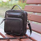 Сумки и аксессуары handmade. Livemaster - original item Men`s bag: men`s leather bag. Handmade.