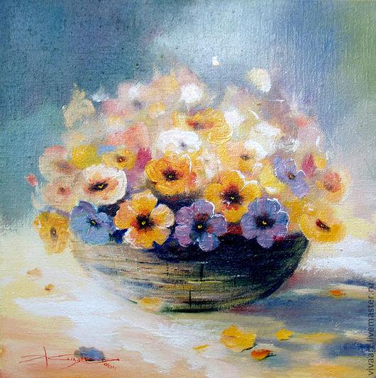 Картины цветов ручной работы. Ярмарка Мастеров - ручная работа. Купить Любимой. Handmade. Рыжий, картина, красивый, нежность, плетене