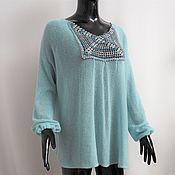 Одежда handmade. Livemaster - original item tunic: Tunic made of kid-mohair. Handmade.