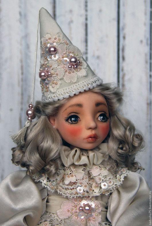 Коллекционные куклы ручной работы. Ярмарка Мастеров - ручная работа. Купить коллекционная кукла Гретта. Handmade. Бежевый, кукла в подарок