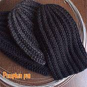 Аксессуары handmade. Livemaster - original item Men`s long hat of Merino and Alpaca