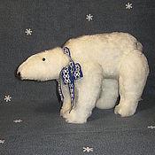 Куклы и игрушки ручной работы. Ярмарка Мастеров - ручная работа Белый медведь. Handmade.