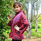 Одежда ручной работы. Ярмарка Мастеров - ручная работа Жакет с розами. Handmade.