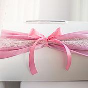 """Свадебный салон ручной работы. Ярмарка Мастеров - ручная работа Сундучок """"пепельно-розовый"""". Handmade."""