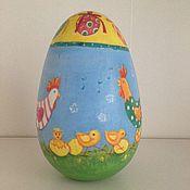 Подарки к праздникам ручной работы. Ярмарка Мастеров - ручная работа Пасхальное яйцо неваляшка. Handmade.