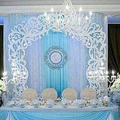 Свадебный салон ручной работы. Ярмарка Мастеров - ручная работа Ажурная свадебная арка. Handmade.
