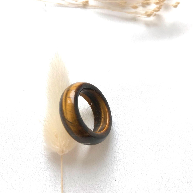 Кольцо из камня «Тигровый глаз», Кольца, Ярославль,  Фото №1