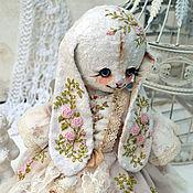 """Куклы и игрушки ручной работы. Ярмарка Мастеров - ручная работа Плюшевая зайка """"Селена"""". Handmade."""