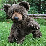 Куклы и игрушки ручной работы. Ярмарка Мастеров - ручная работа Авторский мишка Чемал (Bear cub Chemal). Handmade.